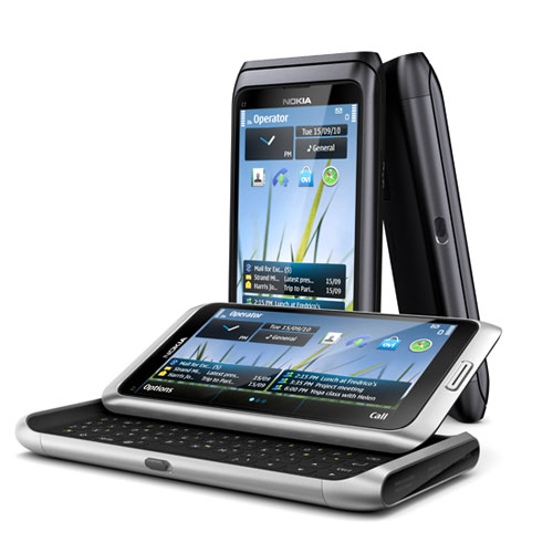 Nokia E7 goes official. Big, beautiful and business centric