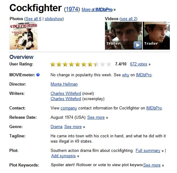 Best Movie Tag Line Ever?