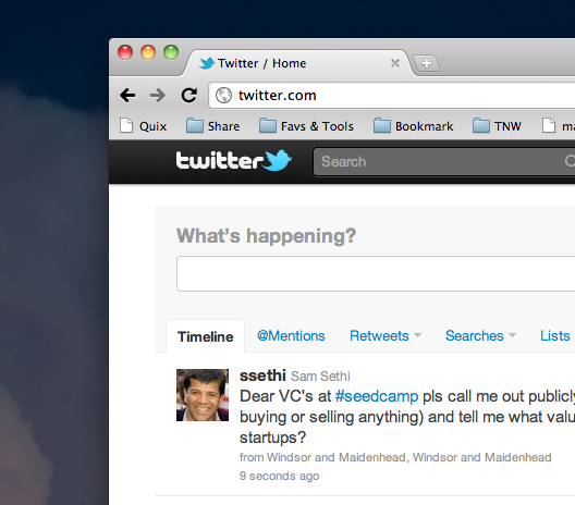 Video Tour of The New Twitter.com by TNW