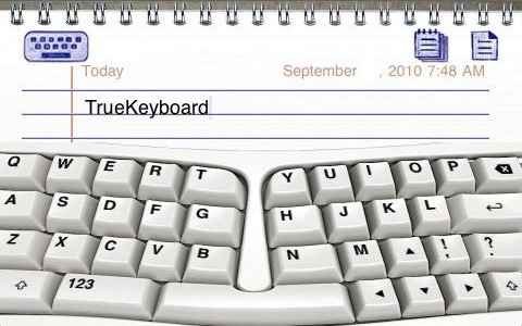 TK11 e1285264254298 TrueKeyboard. Touchscreen typing on the iPad and iPhone enhanced.