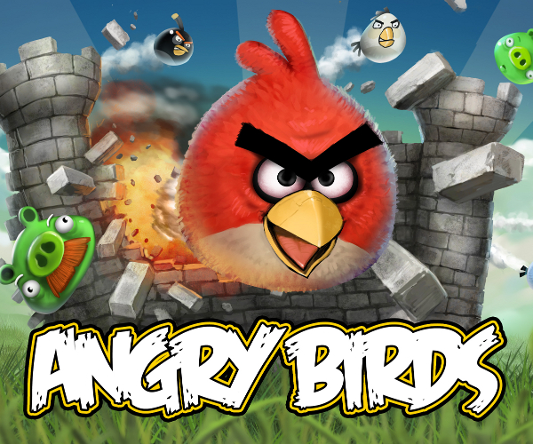 Can you knock down a building with an Angry Birds plush toy?