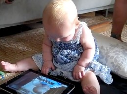 babyipad 260x192 When Toddlers Go iPad App Shopping Wild