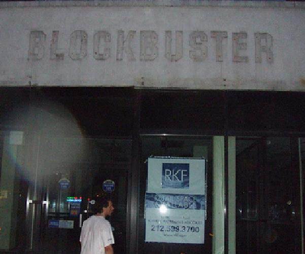 Blockbuster About To File For Bankruptcy As Physical Media Continues To Collapse
