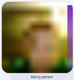 blurry top BlurryPeople is what ChatRoulette 2.0 could have been