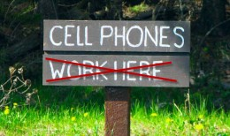cellphonesdontwork 260x154 Best AT&T wireless network coverage area is anything but.