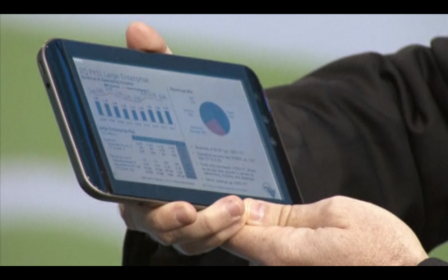 Now this is remarkable. An amazing interactive (newspaper) iPhone ad [video]