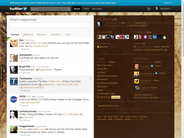 doodle1 600x449 The new Twitter.com   Faster, better experience...and similar to the iPad.