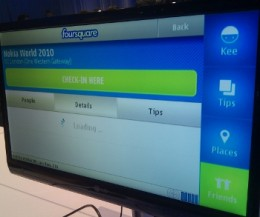 foursquare nokia 260x217 Foursquare eyes app store promos as Nokia reveals official app
