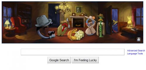 Google's Agatha Christie Doodle