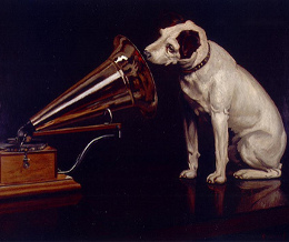 his masters voice1 Google music service to launch before Christmas