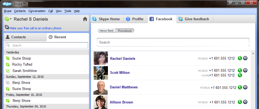 image1 This should be big. Facebook and Skype deep integration on the way