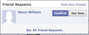 image3 300x117 Facebook adds grey area to friend denials with Not Now option