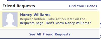 image4 Facebook adds grey area to friend denials with Not Now option