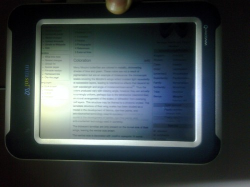 mira ereader 500x375 Innovation Qualcomm 2010