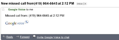 missedcallemailcrop Miss a Google Voice call? Youll now see it in Gmail