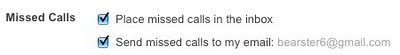 missedcalls Miss a Google Voice call? Youll now see it in Gmail