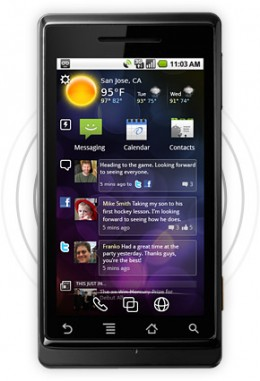 phone android 260x381 New app Spark offers an UI skin within a UI skin for Android and Symbian