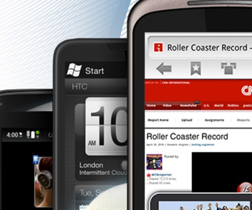 phones 500x416 Skyfire browser for Android passes 2 million downloads