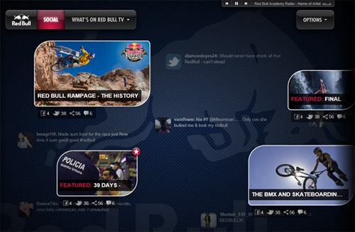 redbullapp Microsoft Reveals IE9 Beta With HTML5 Apps