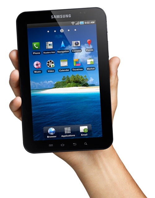 Samsung Galaxy Tab goes official, gets mid September european release