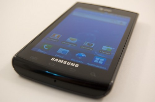 samsung captivate 500x332 TNW Mobile Review : Samsung Captivate, a Galaxy S smartphone.
