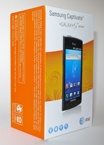 samsung captivate att 360x5002 TNW Mobile Review : Samsung Captivate, a Galaxy S smartphone.