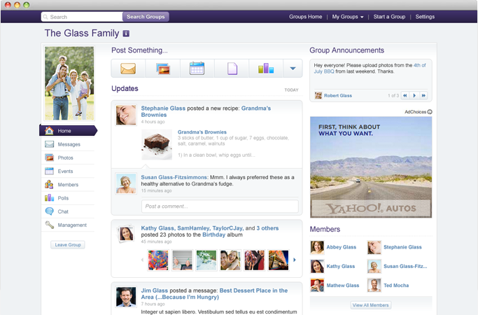 Yahoo Groups slims down while picking up new features