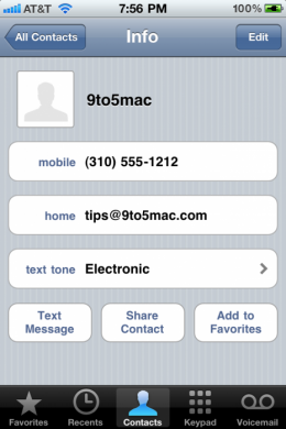 textone 260x390 iOS 4.2 To Allow Assignment Of Individual Message Tones?
