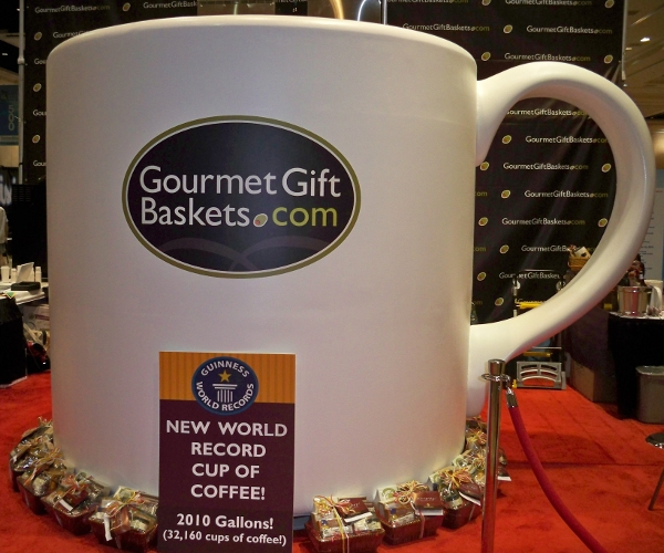 The ultimate caffeine fix: video of the Guinness World Record largest cup of coffee