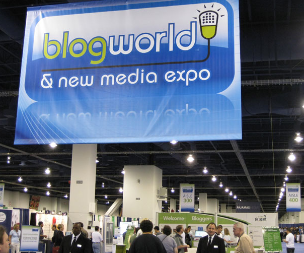 The changing face of blogging? Thoughts from Blogworld Expo 2010.