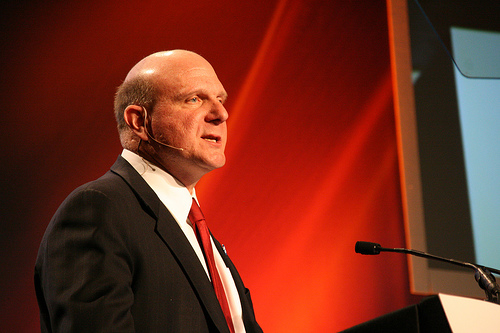 Ballmer bonus slashed following KIN and Tablet failures