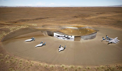 Virgin Galactic's New Mexico Spaceport Runway Dedicated Today!