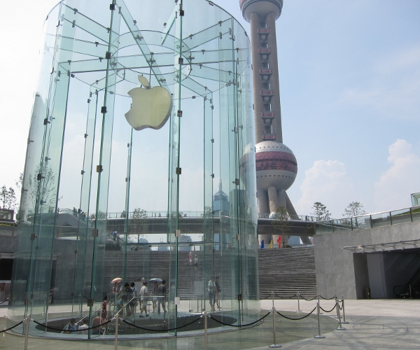 Apple now has a fully localized website, App Store for China