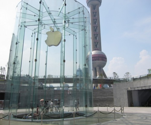Apple Store Pudong 111 500x416 iPhone 4 completely sold out in China, hoarding scalpers probably to blame