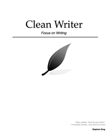 Clean Writer for iPad. As grand as Writer at a fraction of the cost