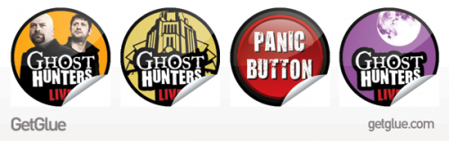 GetGlue GhostHunters Stickers 500x158 GetGlue gets spooky, sporty, and more social with new partnerships