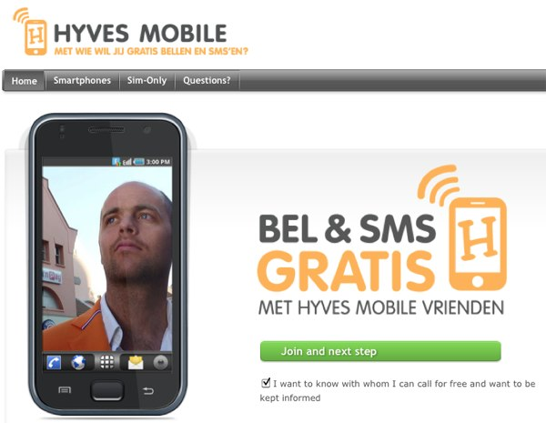 Hyves Mobile Leading Dutch Social Network Hyves Becomes a Mobile Network; Free calls to Your Friends
