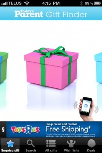 IMG 0327 200x300 Rogers and Todays Parent Release Mobile Gift Finder App