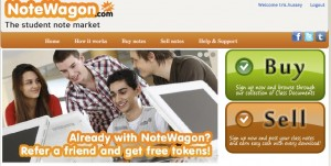 NoteWagon The student note market 300x151 NoteWagon: The Ultimate Extension of the Knowledge Economy?