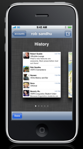 Picture 33 279x500 A better Foursquare client for iPhone? Fourit just might be.