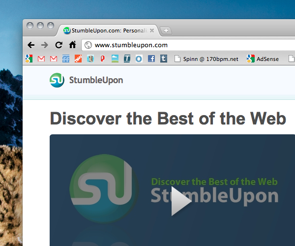 StumbleUpon Video gets improvements with TED, Vimeo and more