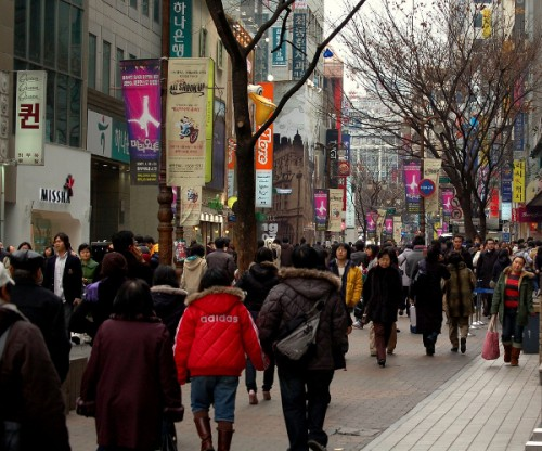 Seoul Myeongdong 02 500x416 South Korea aiming to have 30% of its census done online