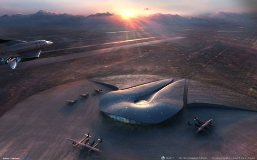 Virgin Galactic Spaceport America runway dedication with Richard Branson 9531 cropped Virgin Galactics New Mexico Spaceport Runway Dedicated Today!