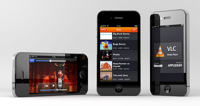 VLC for iPad update enables use on iPhone and iPod Touch
