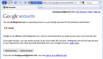 google confirm account access1 Gmail fail? Clean up your inbox with Find Big Mail
