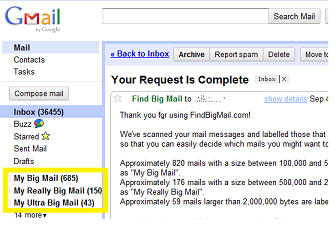 google confirm account access2 Gmail fail? Clean up your inbox with Find Big Mail