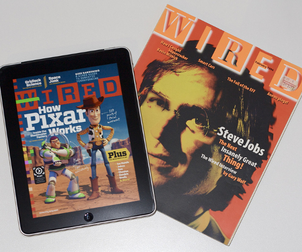 Wired readers could soon have two iPad editions to read each month