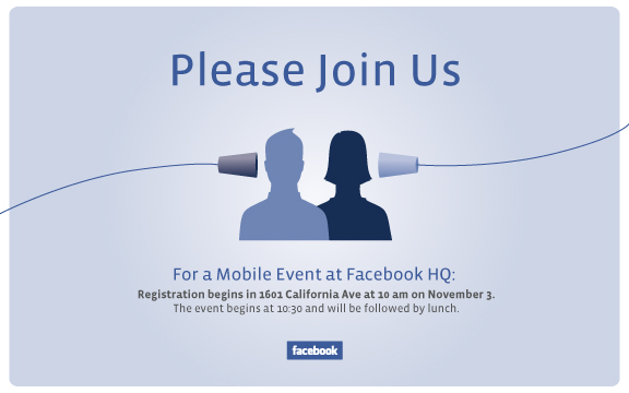 image001 4 things Facebook might announce at its mobile event next week