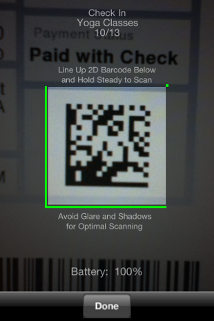 image21 Eventbrite iPhone app now lets organizers scan ticket barcodes