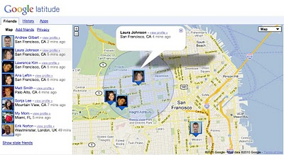 Google Latitude now lets you track your friends from its website